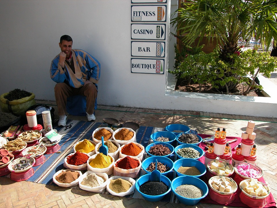 Suk - wakacje i wczasy w Agadir